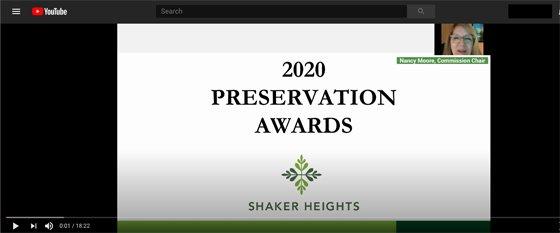 2020 Preservation Awards Video