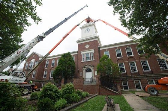 2018 Preservation Award Winner - Woodbury School Bell Tower Restoration