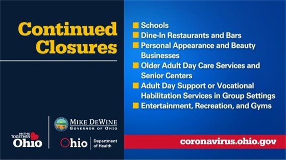 Continued Closures Info Graphic