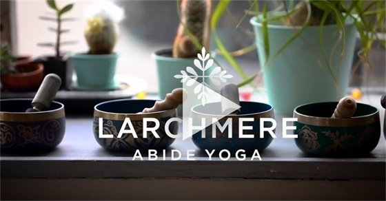 Abide Yoga in Larchmere neighborhood