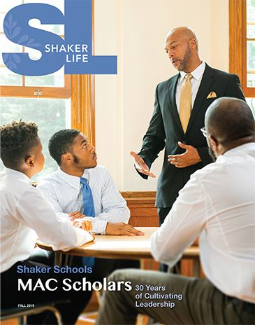 Cover of Shaker Life, Fall 2019