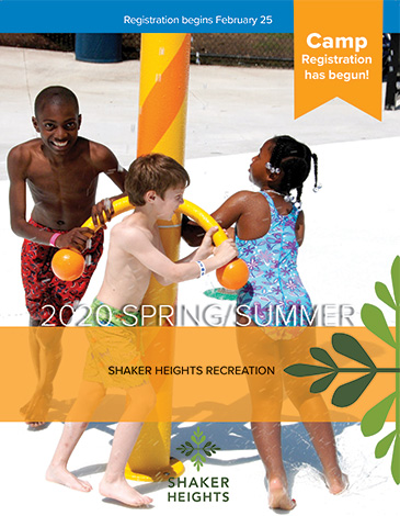 Cover of the Spring-Summer 2020 Recreation Catalog